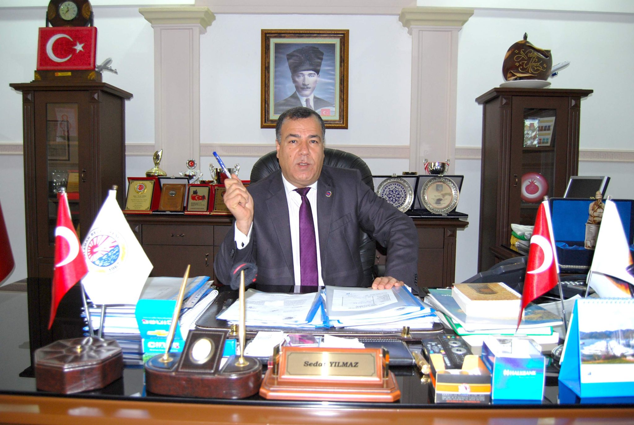 Dalaman Belediye Baskani Sedat Yilmaz Lafla Peynir Gemisi