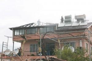 IMG 0061 - Dalaman'da ev yangını