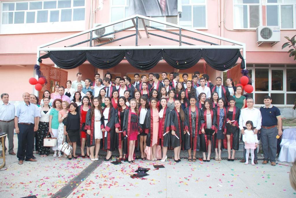 DSC 0095 - Dalaman Anadolu Lisesi 51 öğrenciyi daha mezun etti
