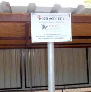 SAM 7422 - Koza Yönetim'den HAYDOS'A destek