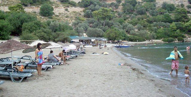 Sarsala Plajı sezona hazır