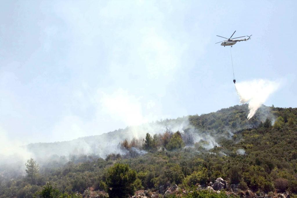 IMG 0397 - Ortaca'da Orman Yangını