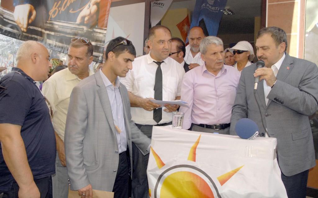 OKN0056 - Orman ve Su İşleri Bakanı  Prof. Dr. Veysel Eroğlu Muğla'da