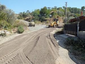 asfalt3 - Dalaman'da köy yolları asfalt oluyor