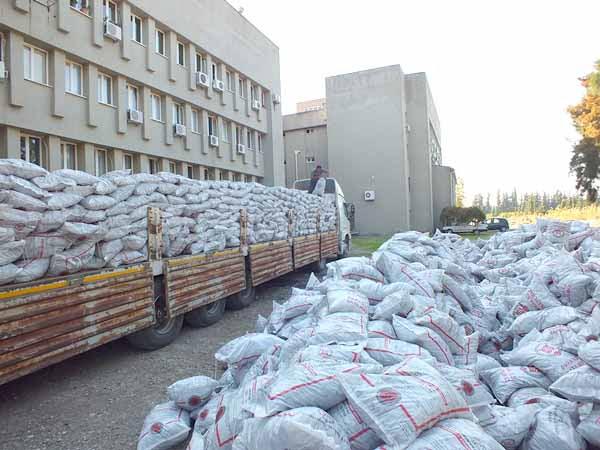 400 aileye kömür yardımı