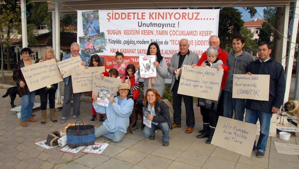 OKN 0242 - Vahşet protesto edildi