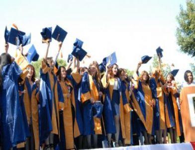 Dalama'da mezuniyet çoşkusu