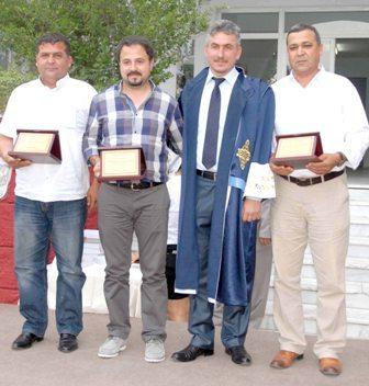 Ortaca Meslek Yüksekokulu'nda mezuniyet töreni