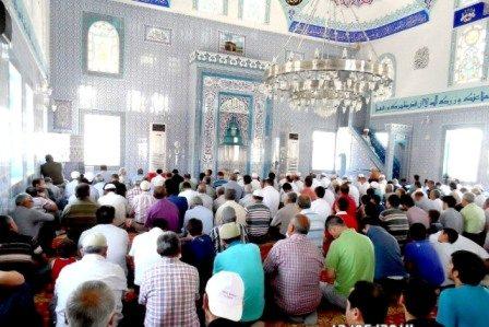 Muğla'nın Ortaca İlçesinde  Yapımı Tamamlanan Merkez  Çaylı Camii ibadete Açıldı
