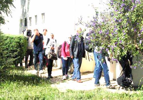 Suriye uyruklu 50 kaçak dalaman'da yakalandı