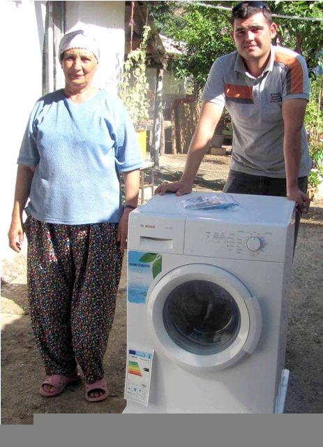 Buzdolabı ve Çamaşır makinaları devletten
