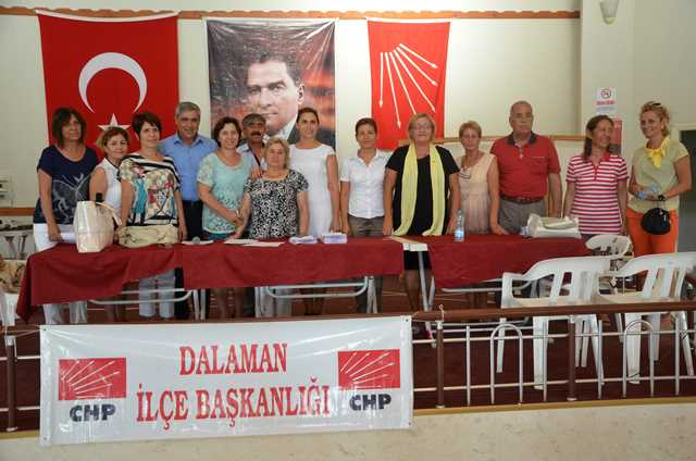 CHP Dalaman'da Kadın Kolları Başkanı'nı seçti