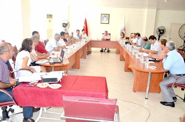 Dalaman Belediyesi Ağustos Ayı Meclisi Toplandı