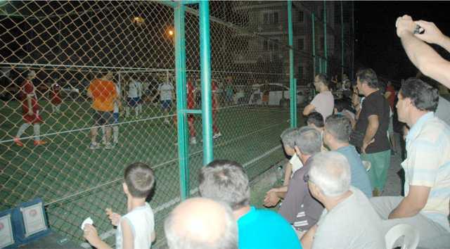 Dalaman'da, Halı Saha  Futbol Turnuvası Sona Erdi
