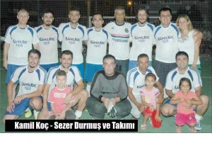 K - Dalaman'da, Halı Saha  Futbol Turnuvası Sona Erdi