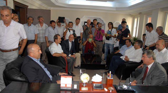 AB Bakanı ve Başmüzakereci Çavuşoğlu Köyceğiz'de
