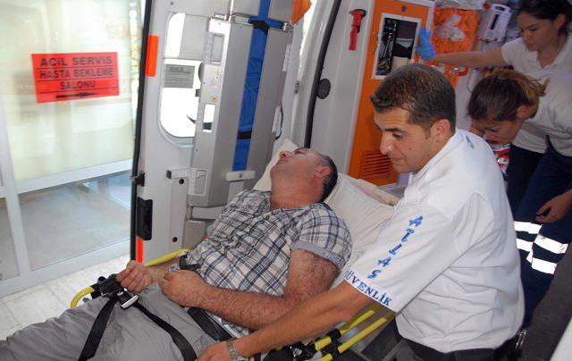 Kalp Krizi Geçirdi Polis Ekipleri Kurtardı