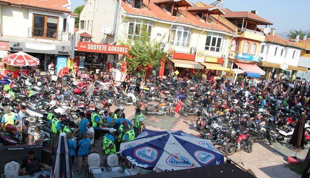 Ege Yolcu 3. Motosiklet Festivali Köyceğiz'i Salladı