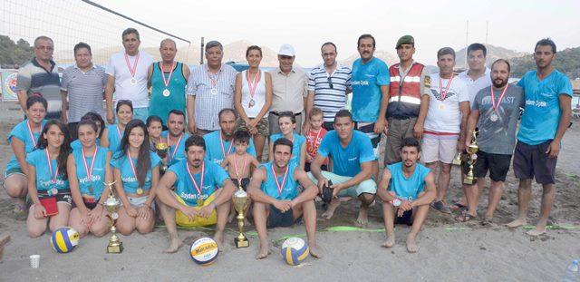 Dalaman'da Zafer Kupası Voleybol Turnuvası