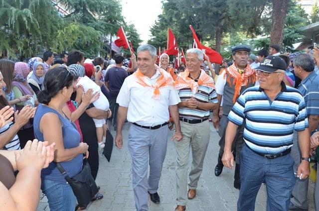 Dalaman Belediyesi Elmalı Festivali'nde