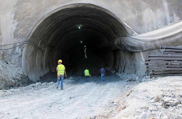 Göcek tünelinde iş kazası