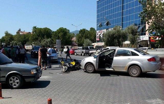 Ortaca Ve Göcek'te Trafik Kazası