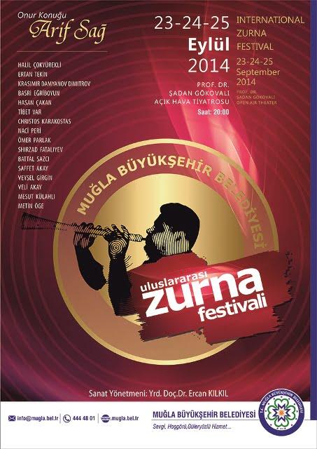 Uluslararası Zurna Festivali 23-24-25 Eylül'de