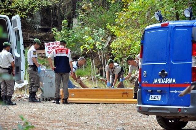 Piknik alanında ceset bulundu