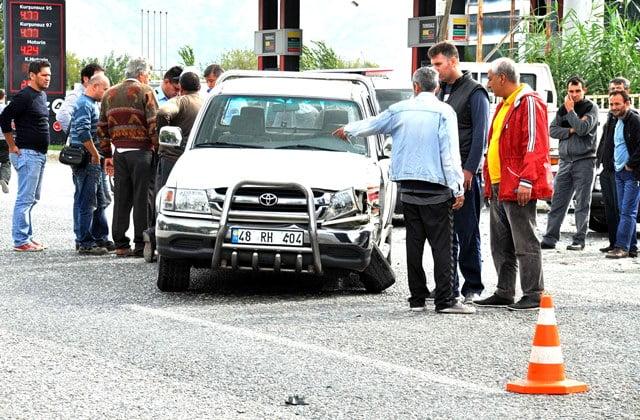 Ortaca'da trafik kazası: 2 yaralı