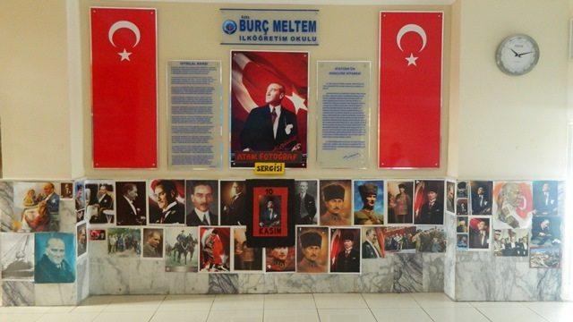 BURÇ MELTEM EĞİTİM KURUMLARI 10 KASIM ATAM FOTOĞRAF SERGİSİ YAPILDI.