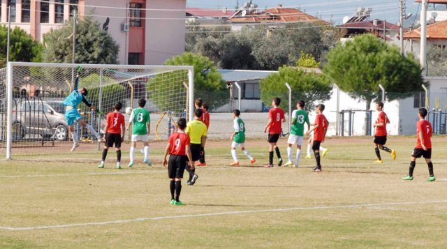 Ortaca Belediyespor U-15 : 1 Muğlaspor U-15 : 3