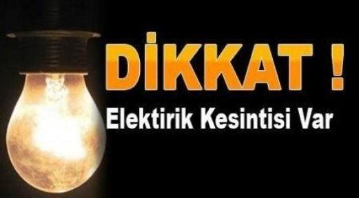 Dikkat, Elektrik Kesintisi