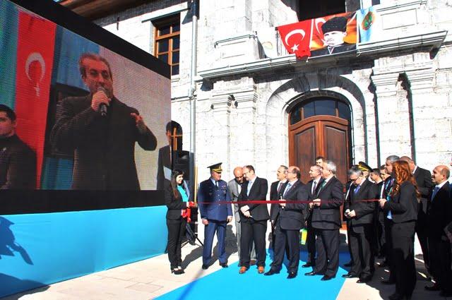 Restore Edilen TİGEM Binası'na Resmi Açılış