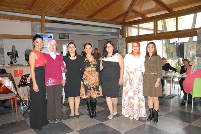 Karaçalı İlk Ve Ortaokulun Dan Çay Partisi