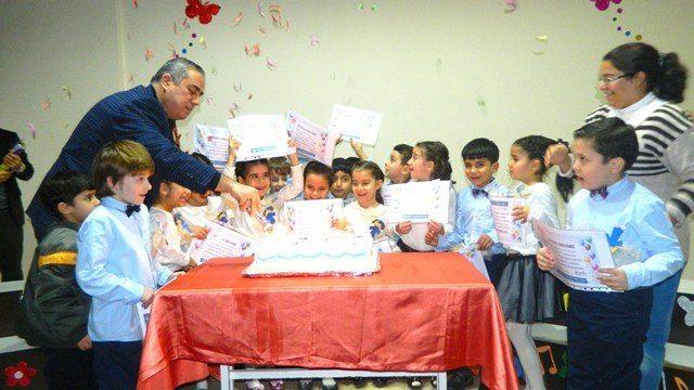 Okuma Sevincini Pasta Keserek Kutladık