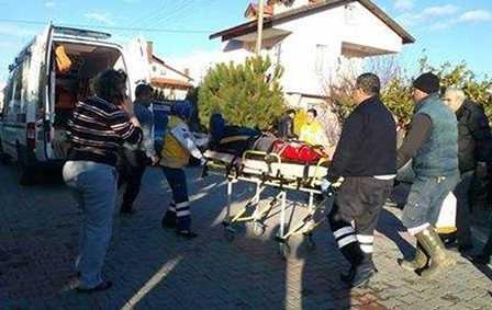 Dalyan'da trafik kazası: 1 yaralı