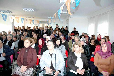 Dalaman  AK Parti danışma kurulu toplantısı yapıldı