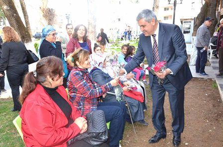 Dalaman Belediyesi'nden Kadınlar Günü etkinliği