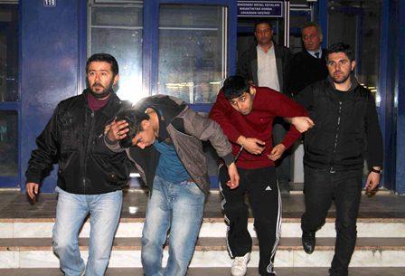 Ortaca'da traktör hırsızları tutuklandı