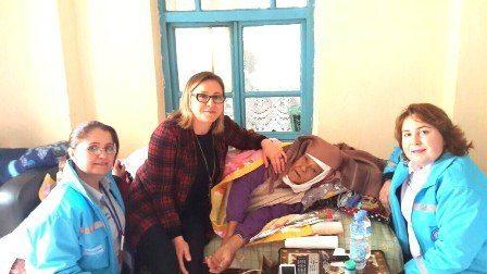 Evde Bakım Hastalarına Ve Yaşlılara Saygı Ziyaretleri