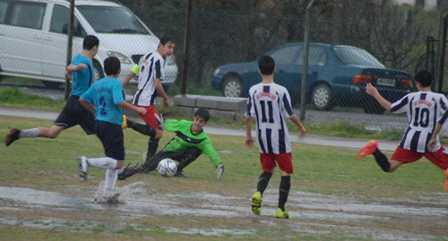 Ortaca'da gol sağanağı