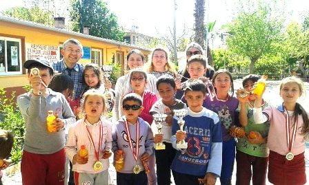 Kemaliye İlkokulu 23 Nisan Hızlı Satranç Turnuvası