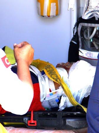 Ortaca'da motosiklet kazası 3 yaralı