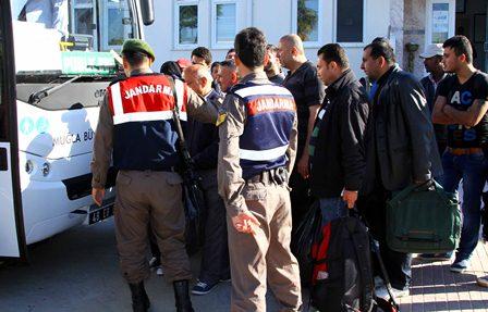 Ortaca'da 73 kaçak yakalandı