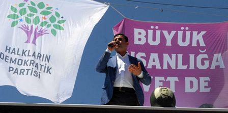 HDP Eş Genel Başkanı Selahattin Demirtaş,