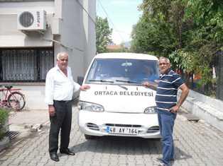 -Ortacalı İş adamından belediyeye araç