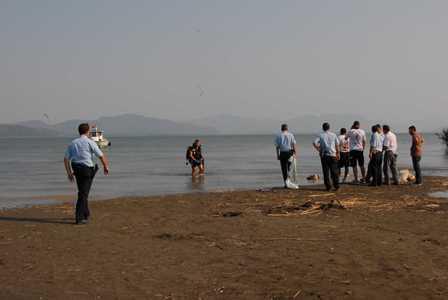-Köyceğiz gölüne giren 2 Suriyeli boğuldu