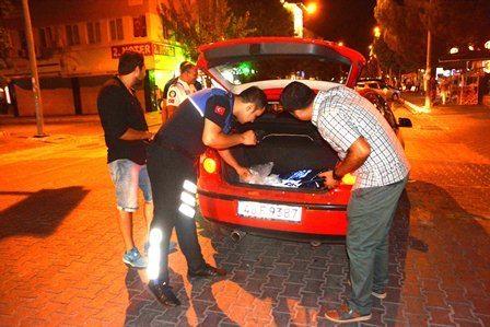 Fethiye'de yüksek sesle gezen araçlara taviz yok!
