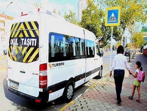 Okul servis araçlarının ücretleri belirlendi