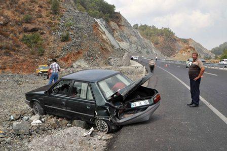 Kocabel'de trafik kazası
